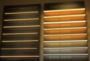 diagrama temperaturilor de culoare exprimata in kelvini